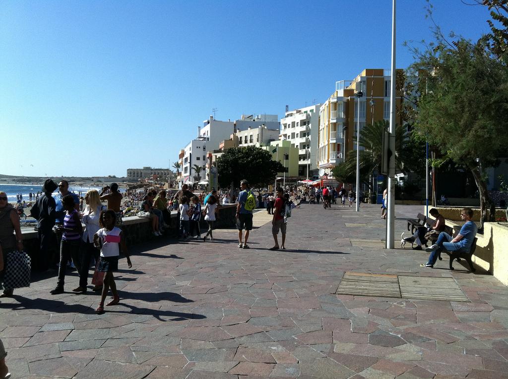 Promenade von El Médano