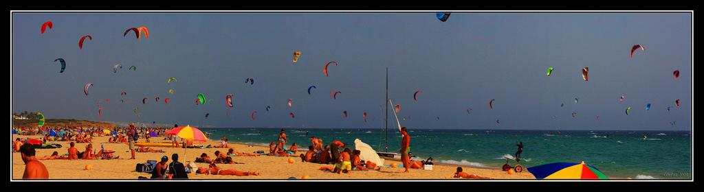 Tarifa - Strand von Valdevaqueros
