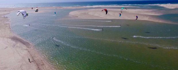 Obidos kitesurfen