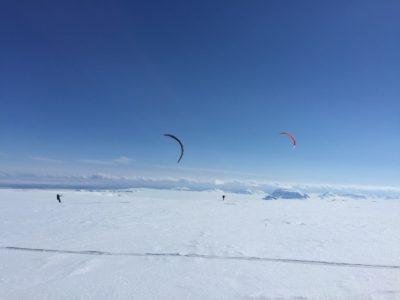 Snowkiten Island